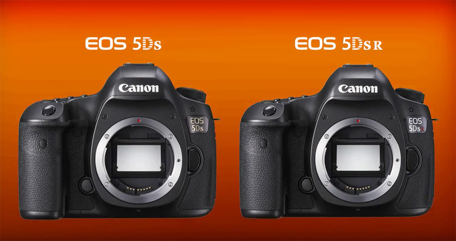 Canon EOS 5Ds vs Canon EOS 5DsR on OrmsTV