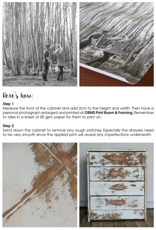 Orms Print Room and Framing and Homology DIY Project - Paper