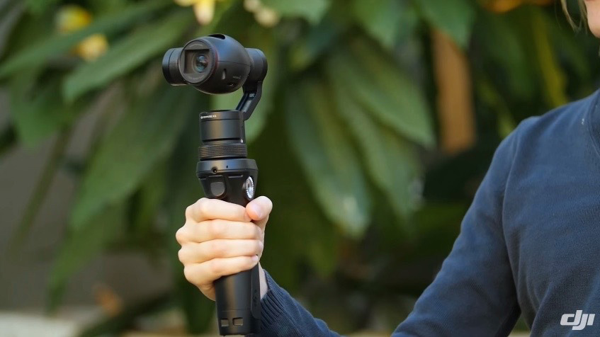 DJI Osmo handheld 4K camera on Orms Connect, South Africa