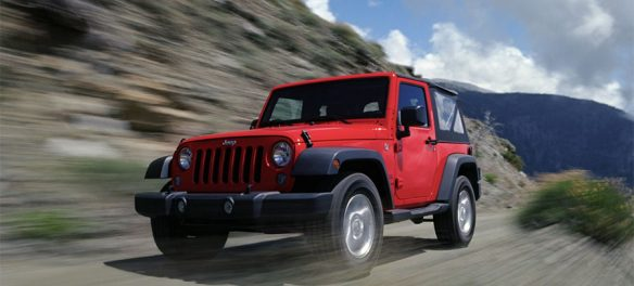 Dave Hill shooting the latest Jeep Wrangler on 35mm film photography