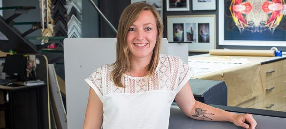 Meet the team at Orms: Fine Art Specialist, Lauren Smit