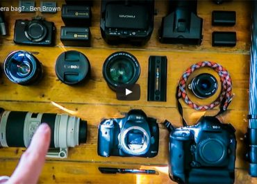 What's in my camera bag? by Ben Brown