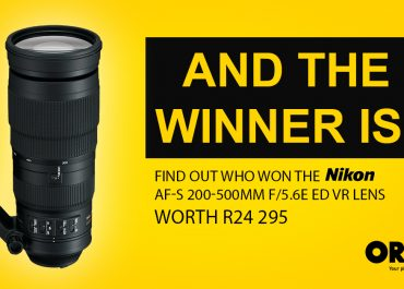 Nikon 200-500mm Lens Competition