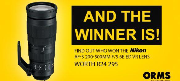Nikon 200-500mm Lens Competition