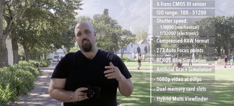 On Location with the Fujifilm X-Pro2 Mirrorless Camera