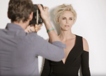 Watch Alexi Lubomirski shoot Charlize Theron for the cover of British GQ!