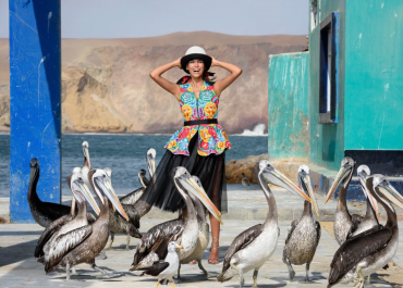 Fashion Photography in Peru with Joe McNally