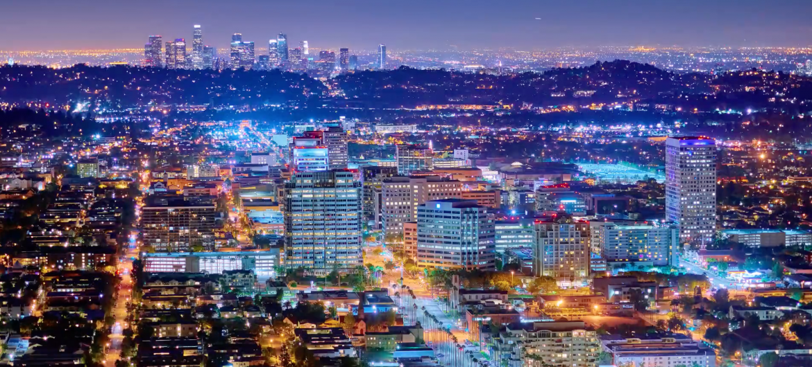 This is a Time-Lapse of LA in 12K Resolution by Joe Capra