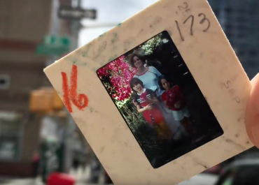 Abandoned Bag of Kodachrome Slides in NYC