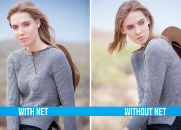 How to Modify Bright Backgrounds with a Scrim Net