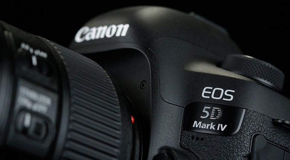Announced the Canon EOS 5D Mark IV with 4K Video