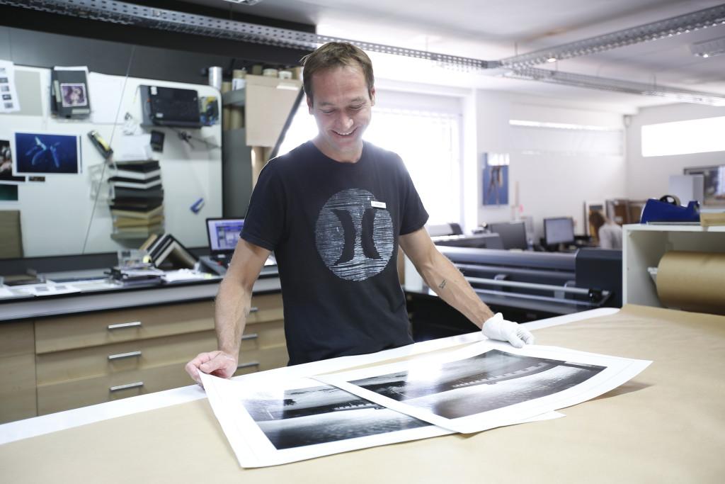 Lightjet print by Orms Print Room & Framing