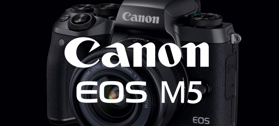 Looking at the features on the all new Canon EOS M5 Mirrorless Camera on OrmsTV