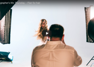 A Week in a Photographer's Life: Flair for Hair with the Profoto D2