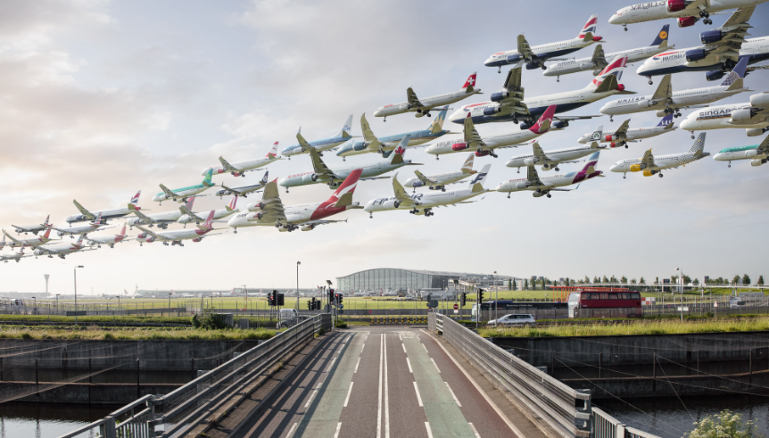 The Making of Airportraits: Chasing Planes Around The World