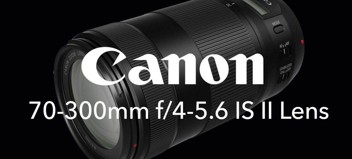 Canon EF 70-300mm f/4-5.6 IS II USM Lens | Interview with Roger Machin on OrmsTV