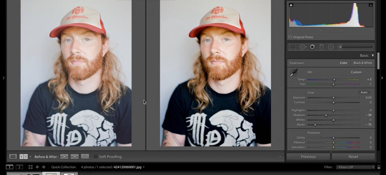 Editing Film Scans by Matt Day