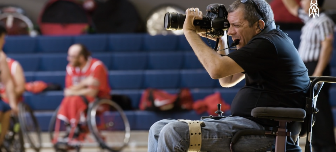 Capturing Action Sports as a Quadriplegic Photographer