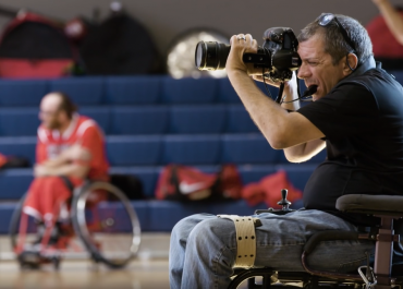 Capturing Action Sports as a Quadriplegic Photographer