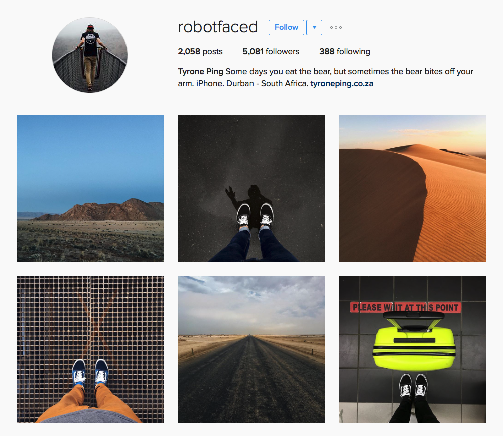 9 of Our Favourite SA Instagrammers featured on Orms Connect
