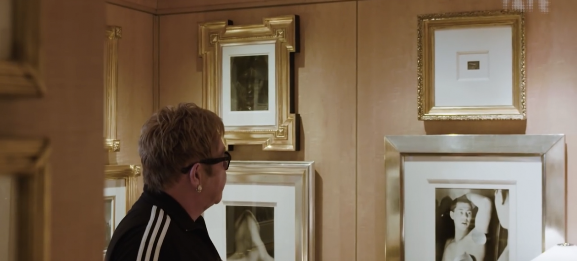 The at Home Tour of Sir Elton John's Modernist Photography Collection