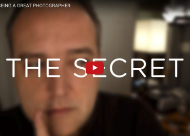 The secret to being a great photographer by Ted Forbes