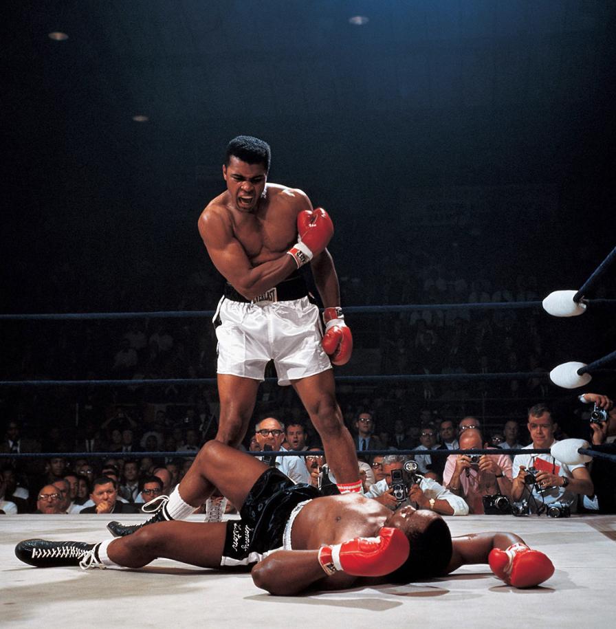 Muhammad Ali vs. Sonny Liston | Neil Leifer 1965