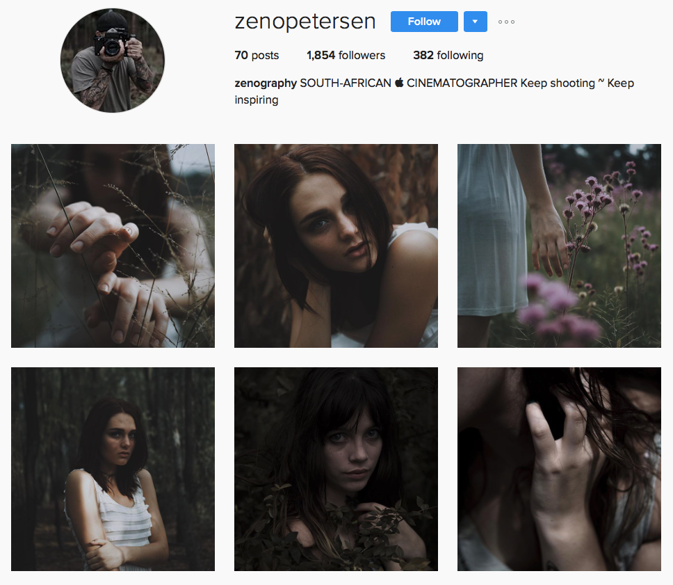 Zeno Petersen Cinematographer