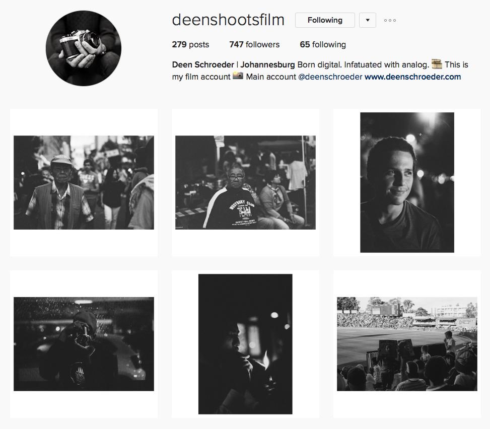 Deen Schroeder @deenshootsfilm