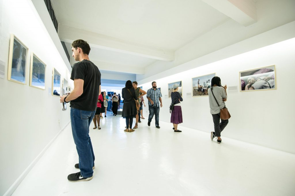 """Ilan Godfrey """"The Platinum Belt"""" opening at Orms Cape Town School of Photogaphy"""