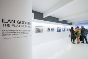 "Exhibition: ""The Platinum Belt"" by Ilan Godfrey"