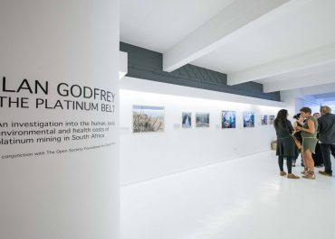 "Ilan Godfrey ""The Platinum Belt"" opening at Orms Cape Town School of Photogaphy"