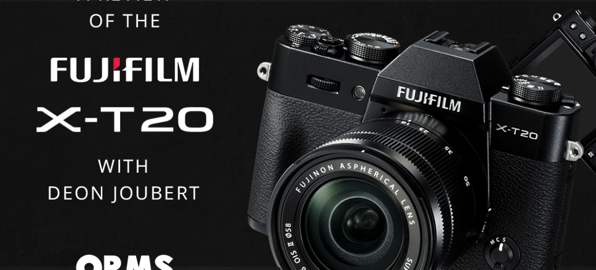 Fuji X-T20 Review by OrmsTV