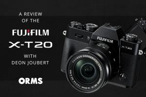 Fuji X-T20 Review with Deon Joubert