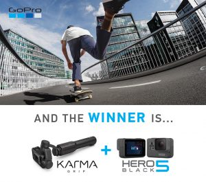 Giveaway: WIN A GoPro HERO5 Black + Karma Grip worth R12 995!