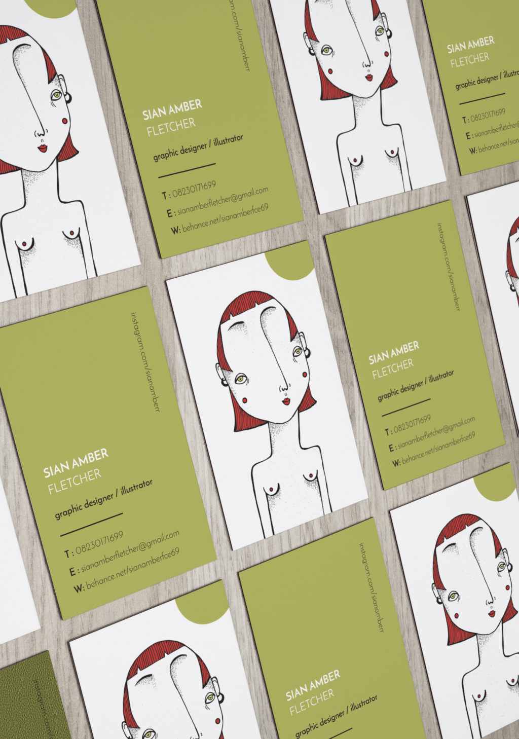 Orms Maker Series: A Corporate Identity for Sian Amber Fletcher