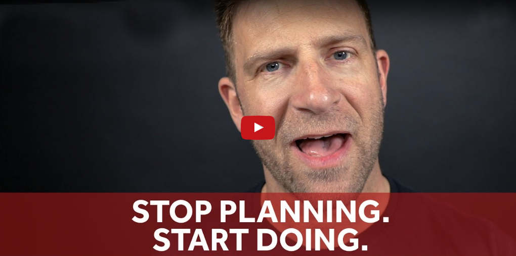 Stop Planning. Start Doing by Chase Jarvis - featured on Orms Connect