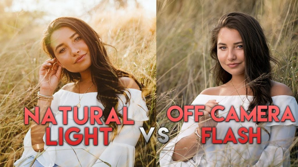 Shooting The Same Model: Natural Light vs Off Camera Flash