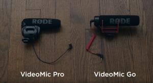 Cinematography: RODE VideoMic Go vs VideoMic Pro
