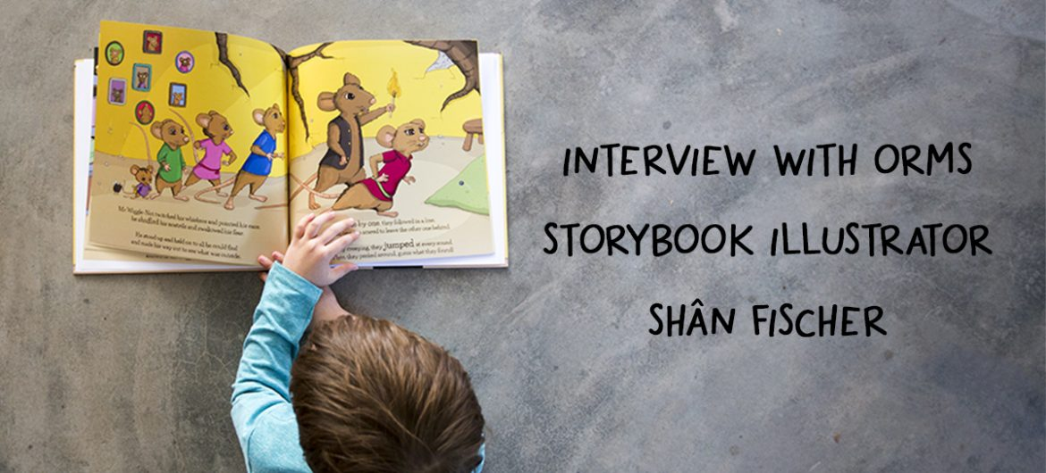 "Interview with the ""My Orms Story"" Photobook Illustrator, Shân Fischer"