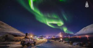 Capturing Surfers Under the Northern Lights