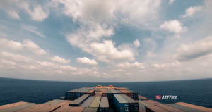 Time-lapse: 30 Days at Sea Through Thunderstorms, Torrential Rain & Busy Traffic