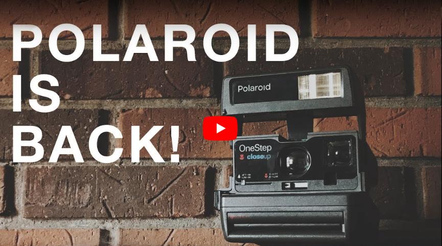 Polaroid is back! by Matt Day
