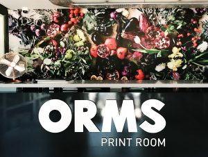 Using Wallpaper To Revamp Orms Print Room & Framing
