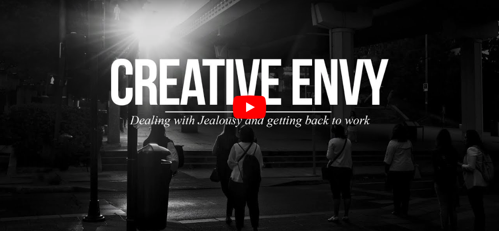 How to Deal with Creative Jealousy and Get Back to Work