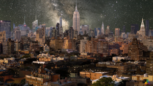 "Watch as Julian Tryba's Layered Time-Lapse ""Plays Music"" on the NYC Skyline"