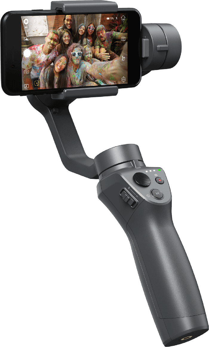 Share Your Story with the DJI Osmo Mobile 2 Smartphone Gimbal