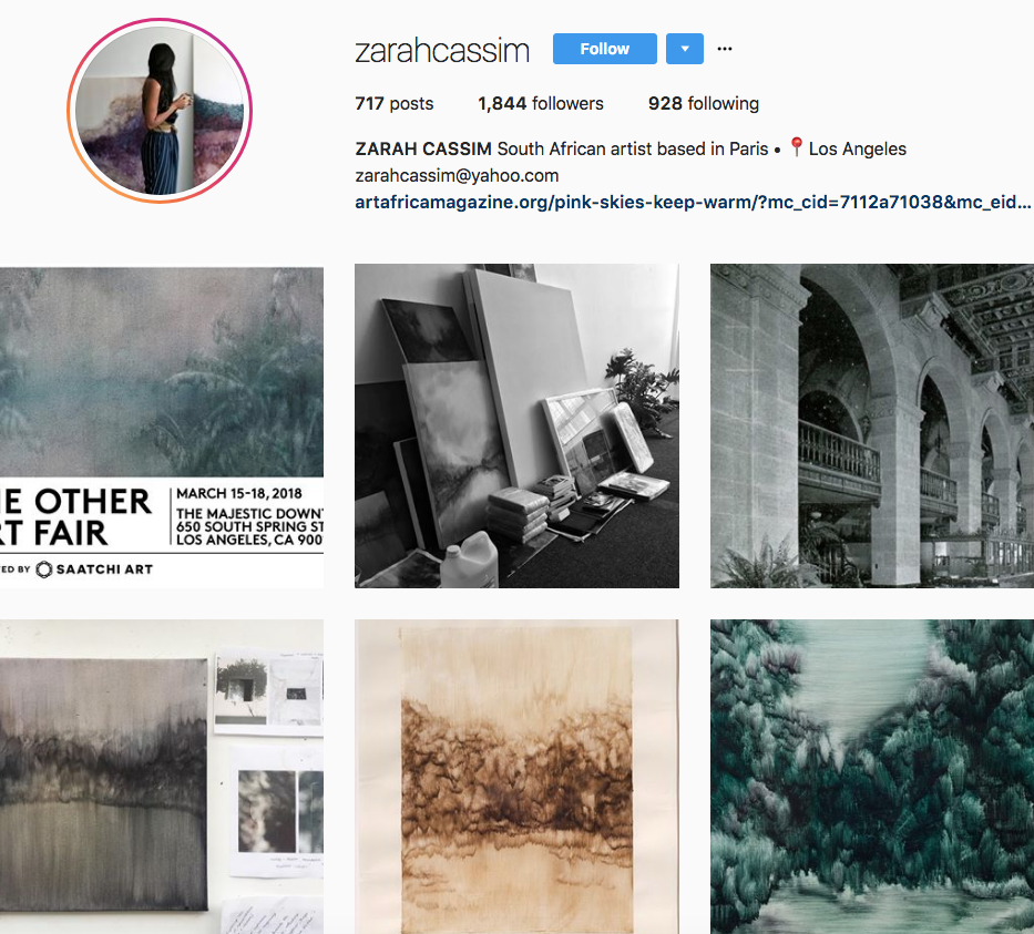 Zarah Cassim, one of our 9 favourite SA instagrammers