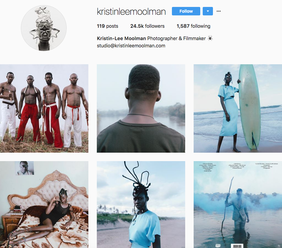 Kristen Lee Moolman, one of our 9 favourite SA instagrammers
