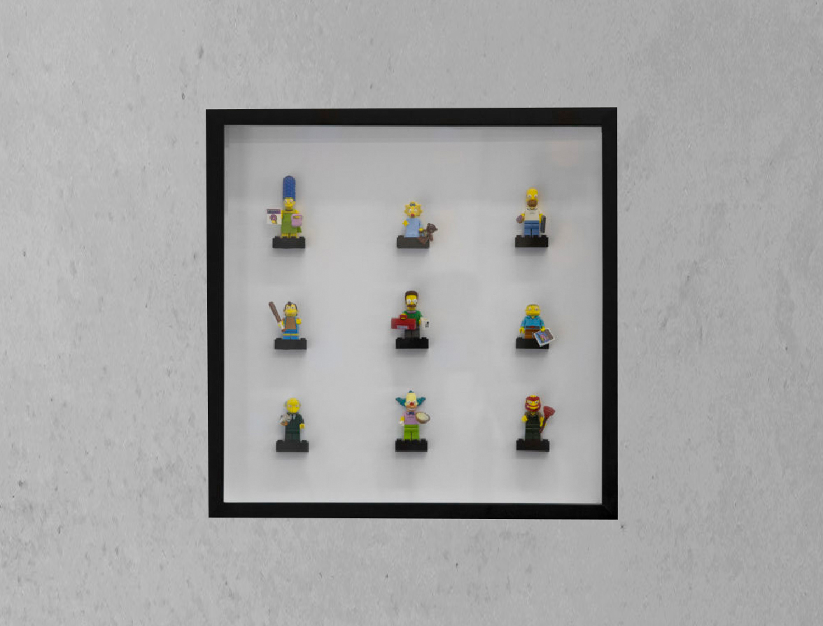Framed Lego Collection featured on Orms Connect